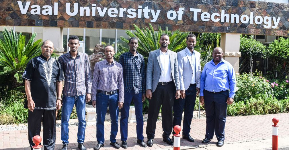 Vaal University of Technology (VUT) Vice Chancellor & Principal welcomes Somalian Postgraduate Students